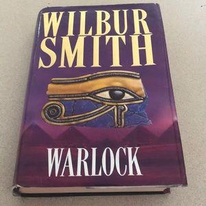 Hardcover book Warlock by Wilbur Smith